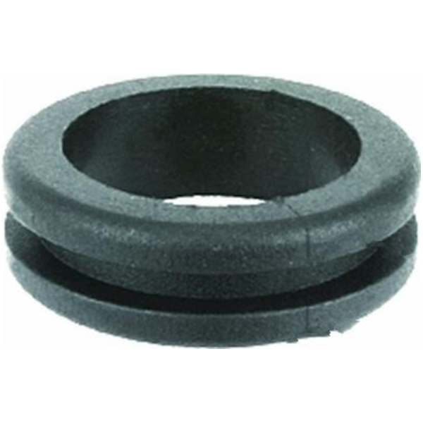 Cable grommet double sided open