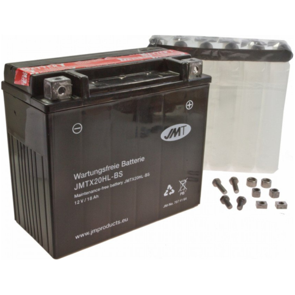 Motorcycle Battery YTX20HL-BS JMT