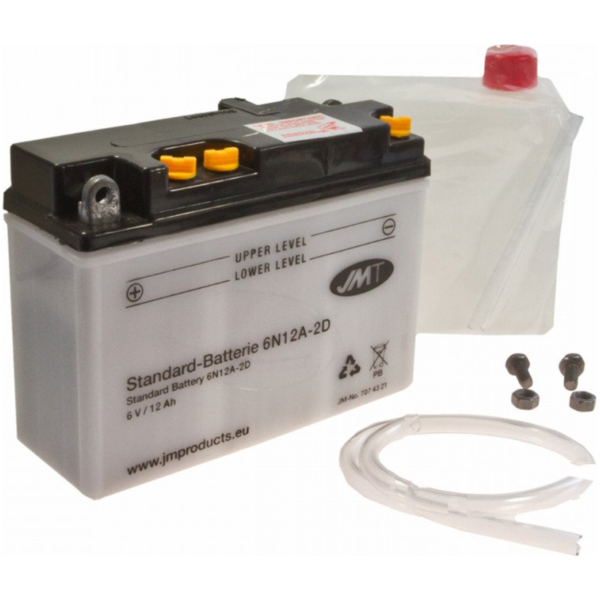 Motorcycle Battery 6N12A-2D JMT