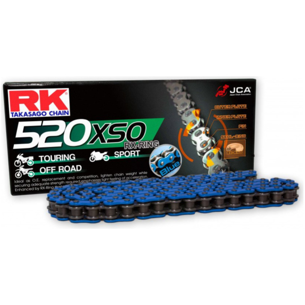 RK X-Ring Chain  BL520XSO/108
