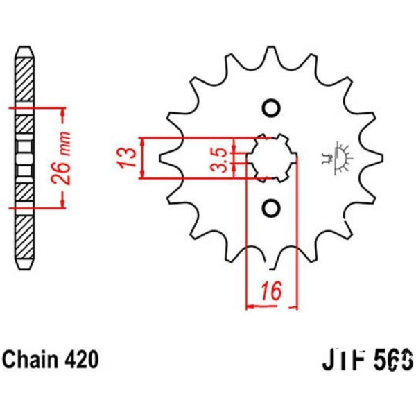 Xfight-Parts Isolator ohne O-Ring Ansaugstutzen 4Takt 50ccm 139QMA//QMB Jack Fox YY50QT-22