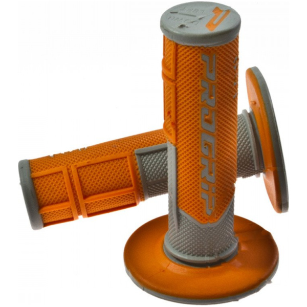 Progrip grip set grey/orange