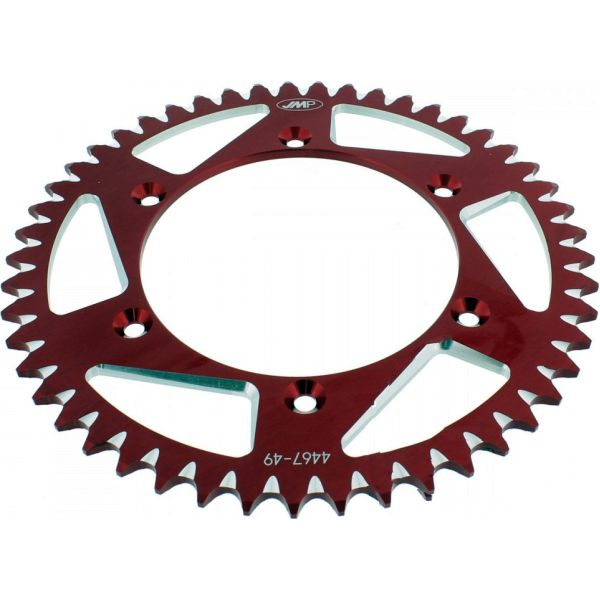 Rear sprocket aluminium 49tooth pitch 520 red A446749RED