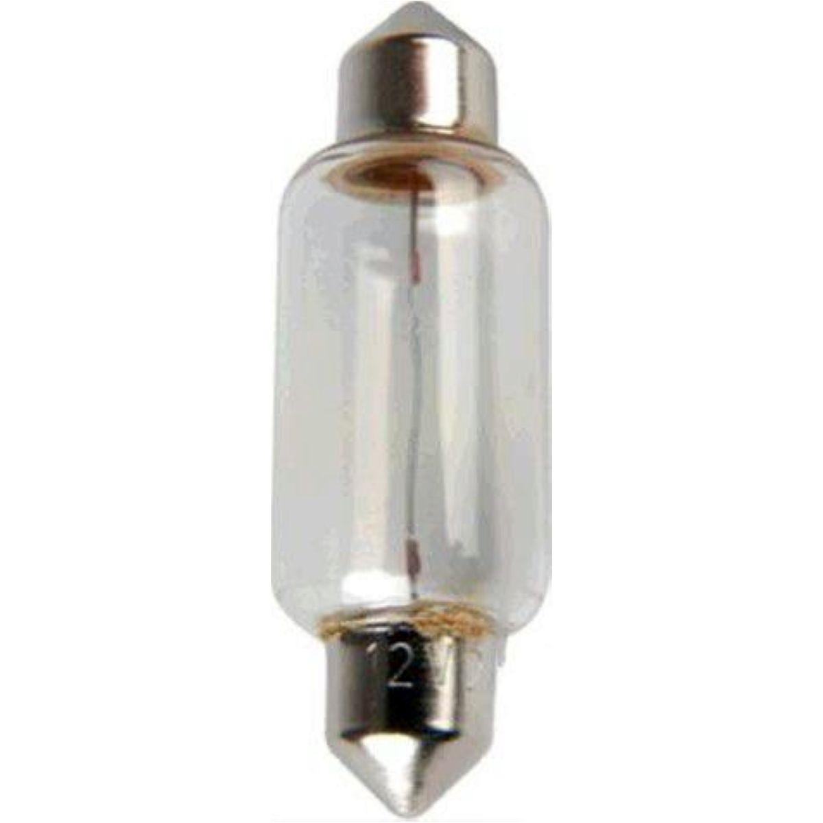 Bulb 12v10w sv8 5-8 festoon 6411 - 0,69 EUR
