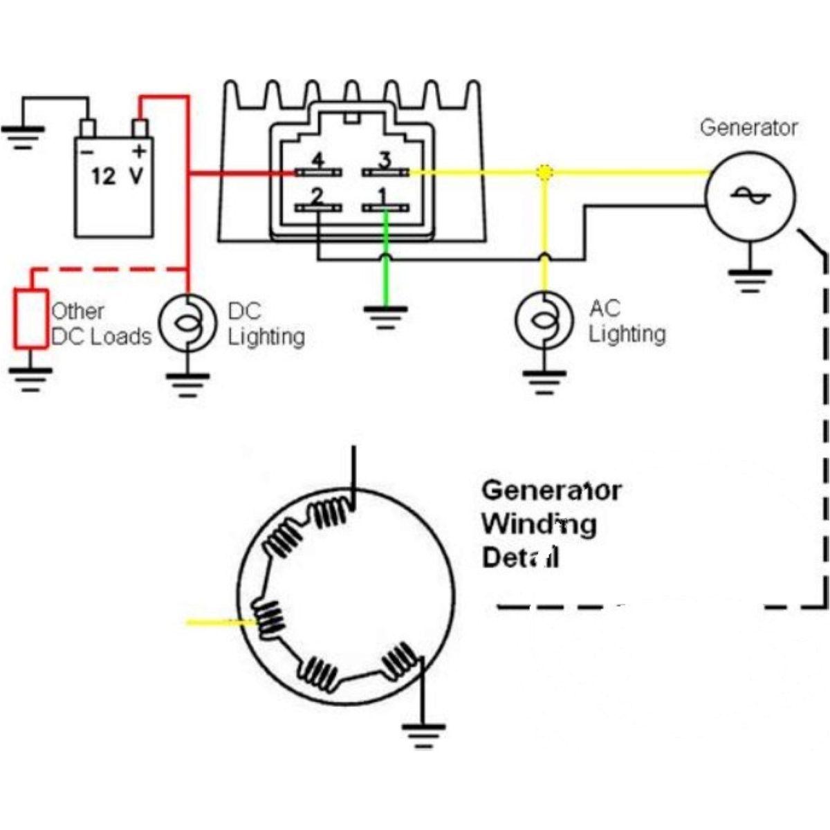 Generatorregler Spannungregler Regler / Gleichrichter 2012 on