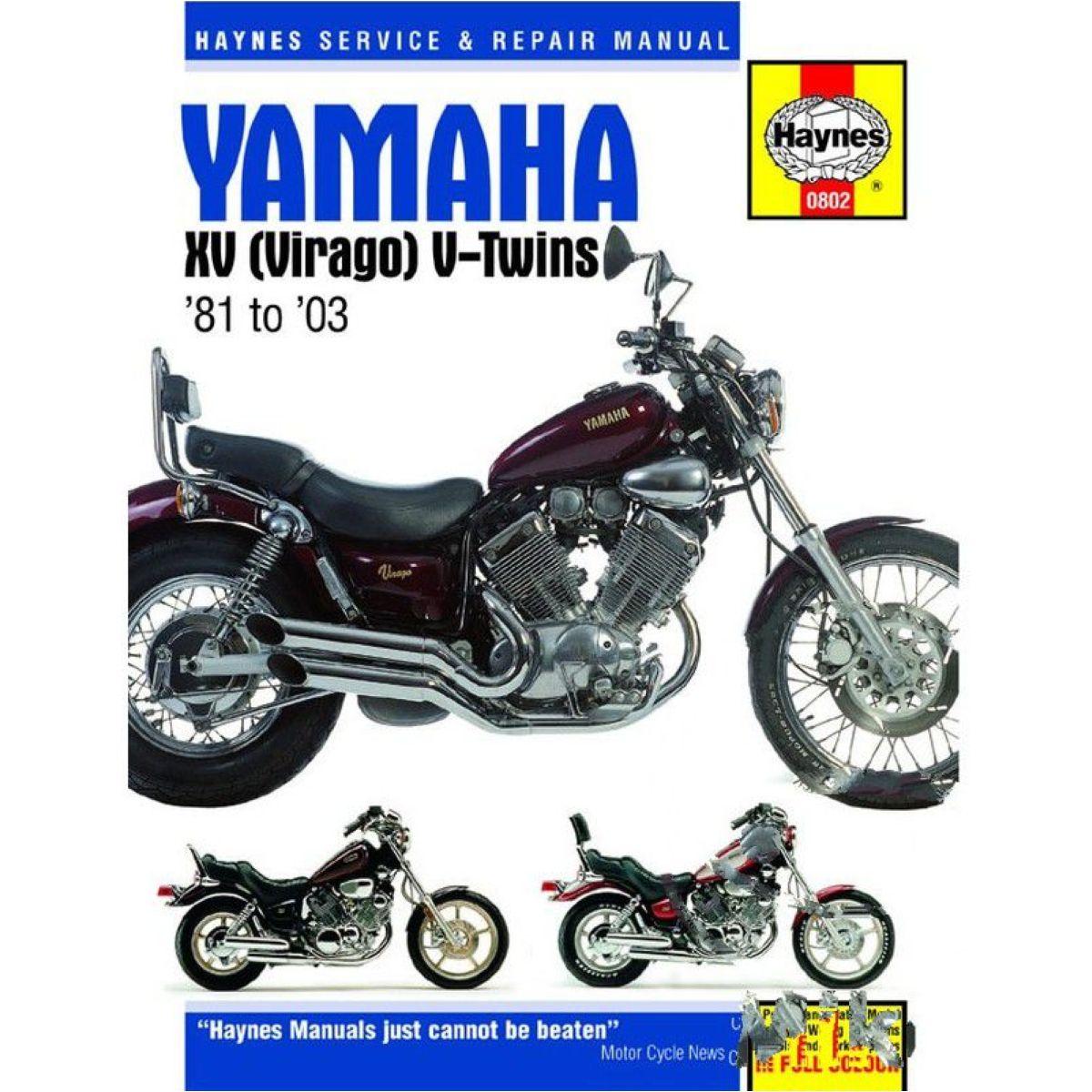 Haynes repair manual 0802