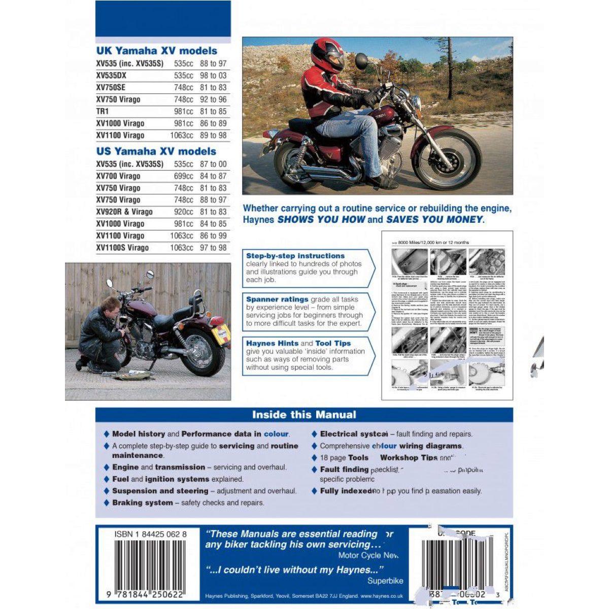 Reparatur Anleitung Yamaha 0802 Fr Xv Virago 89 Wiring Diagram Gussrad 1100 3lp 1989 1990 61 Ps 45 Kw