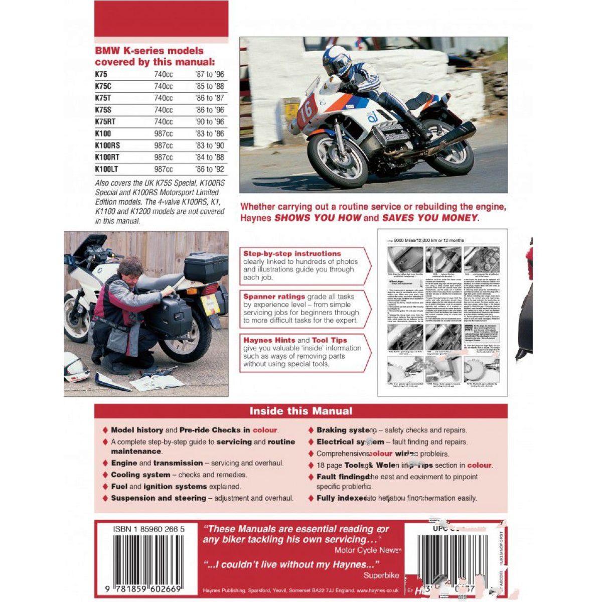 Haynes repair manual 1373