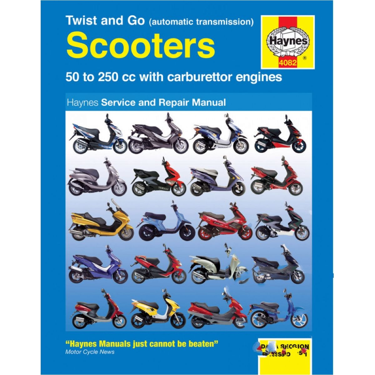 Haynes repair manual 4082 für Peugeot Jet Force C-Tech 50 VGA A1AABA  2010-2011, 4,9 PS, 3,6 kw