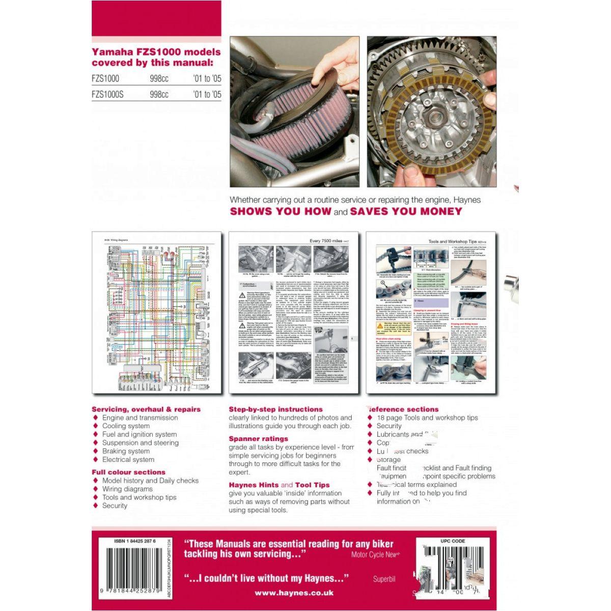 repair manual für Yamaha Anleitung Reparatur
