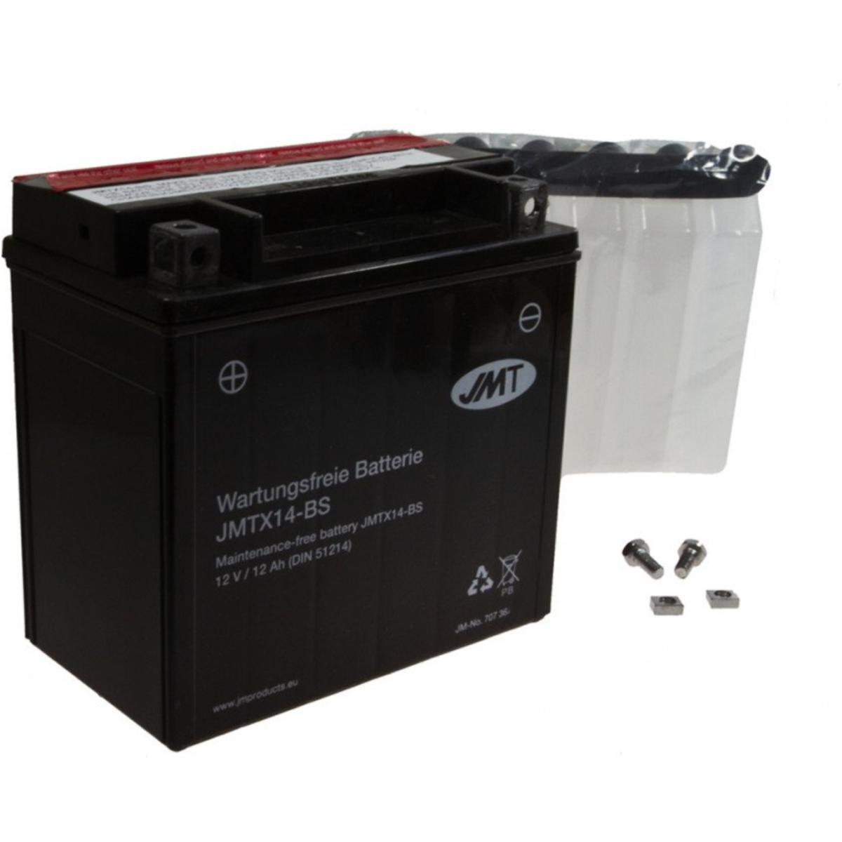 Auto & Motorrad: Teile Quad Batterie YB14L-A2 JMT JMB14L-A2 ACID