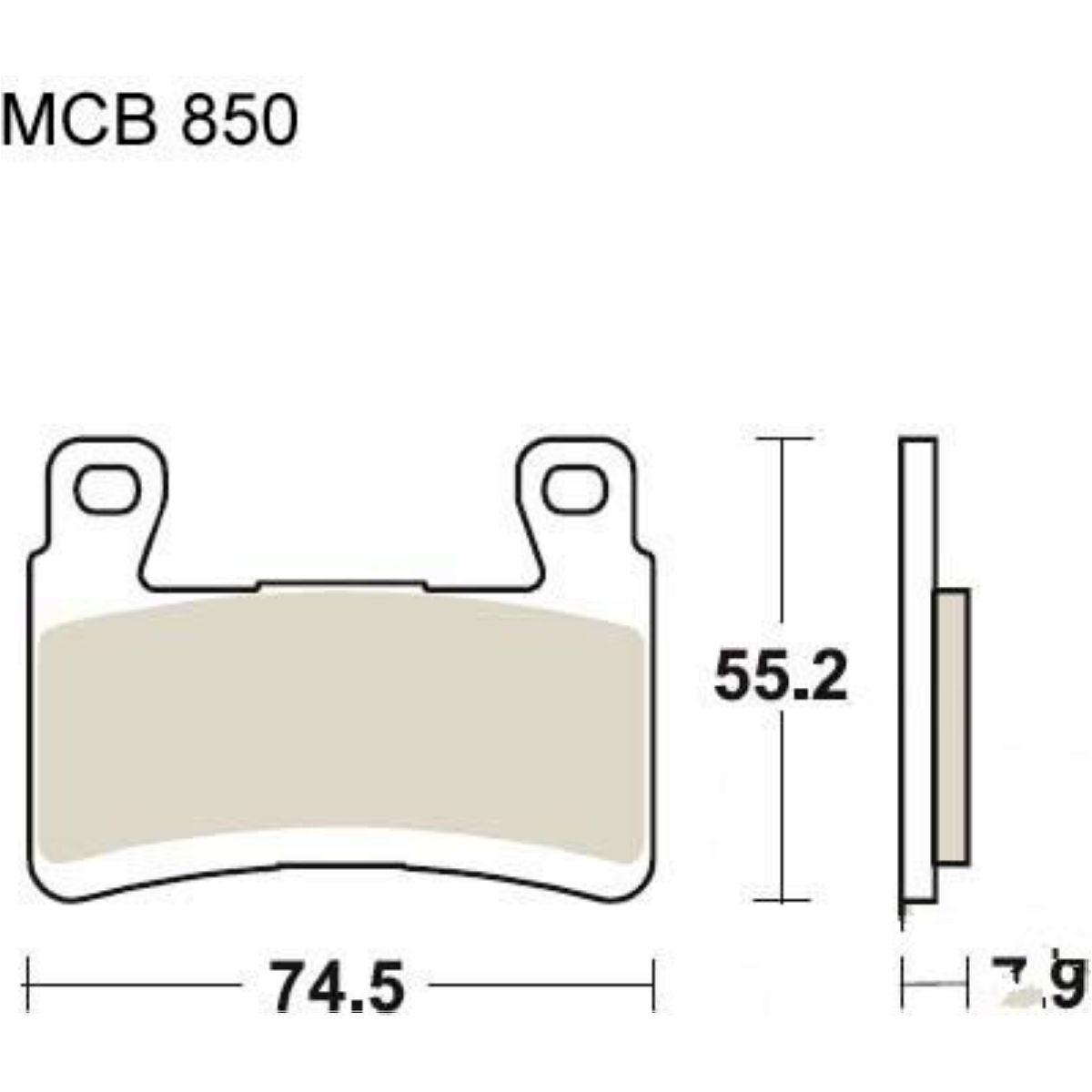 TRW Lucas Bremsbeläge MCB850CRQ vorne Kawasaki ZX-6R 636 F Ninja ABS