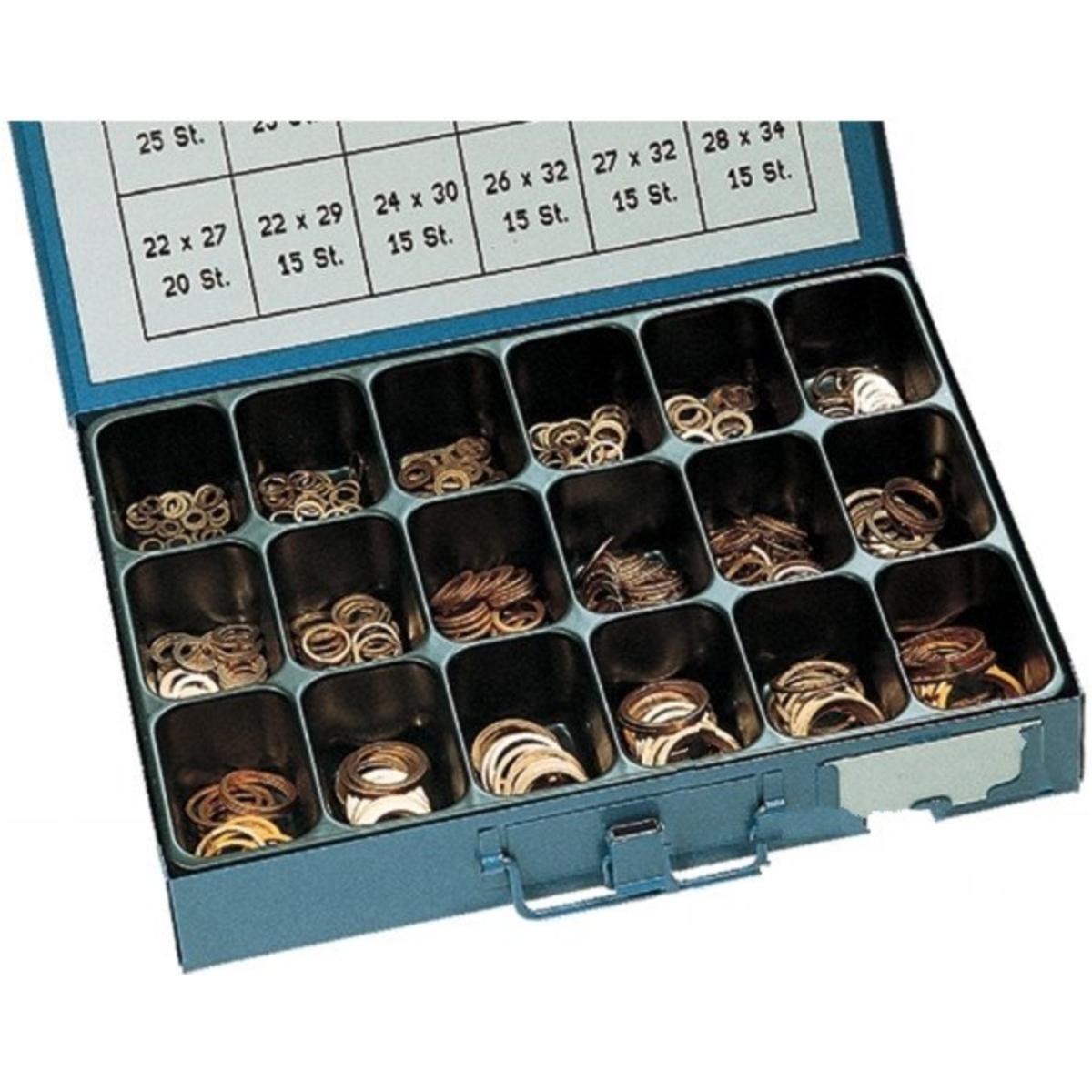 Dichtringe aus Kupfer 12x18x1,5 mm 25 Stück