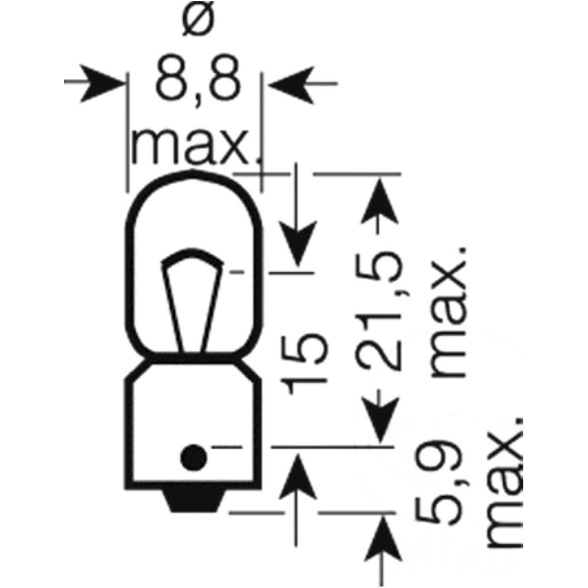 Bulb 12v4w ba9s alt no 1597707 honda vfr 17980 technical data sciox Images