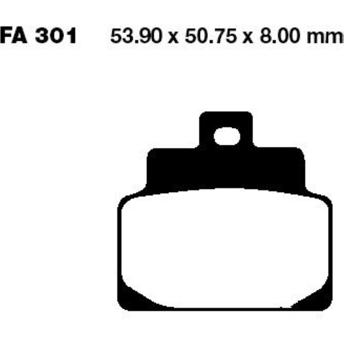 EBC Bremsklotz Standard FA185TT