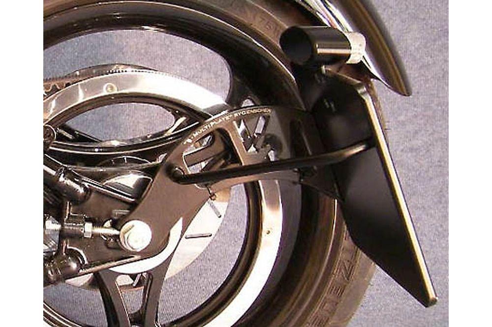 IBEX seitlicher Kennzeichenhalter Harley Davidson Dyna 05-1690 Dyna Street Bob