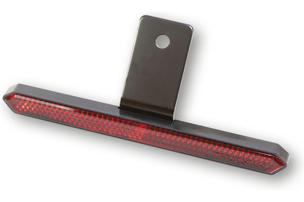 Rückstrahler Seitenstrahler rot 110 mm ALU 2 Stück