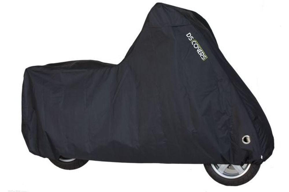 Mopeds /& Scooter Highsider Abdeckplane Faltgarage Indoor schwarz für Motorräder