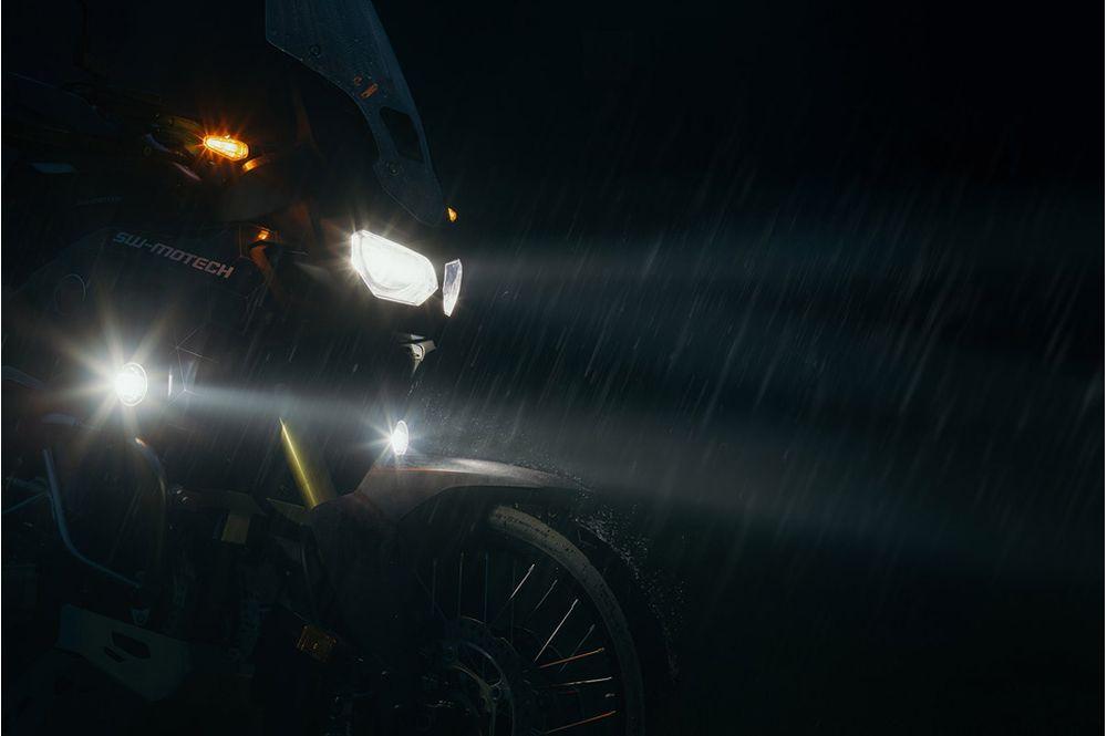KOSO AURORA LED-Nebelscheinwerfer schwarz