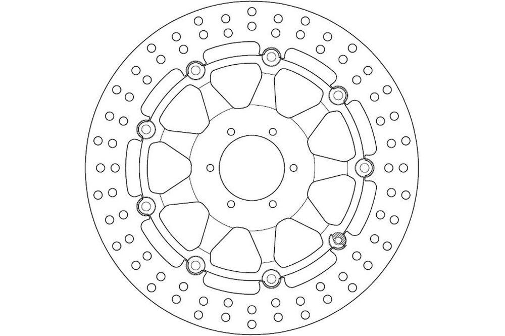 Bremsscheibe Ferodo FMD0218/R