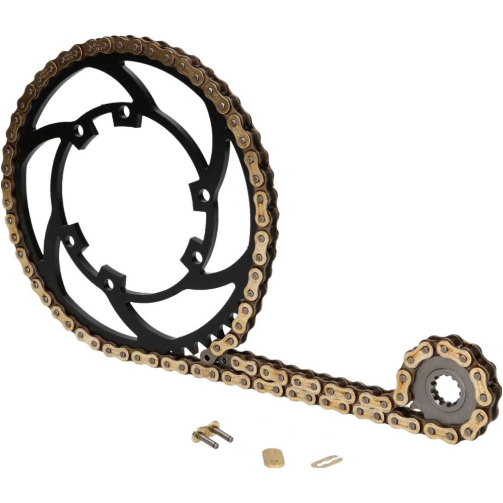 Derbi Derbi 50 Senda R Racer HD Motorcycle Chain 420 130 Links