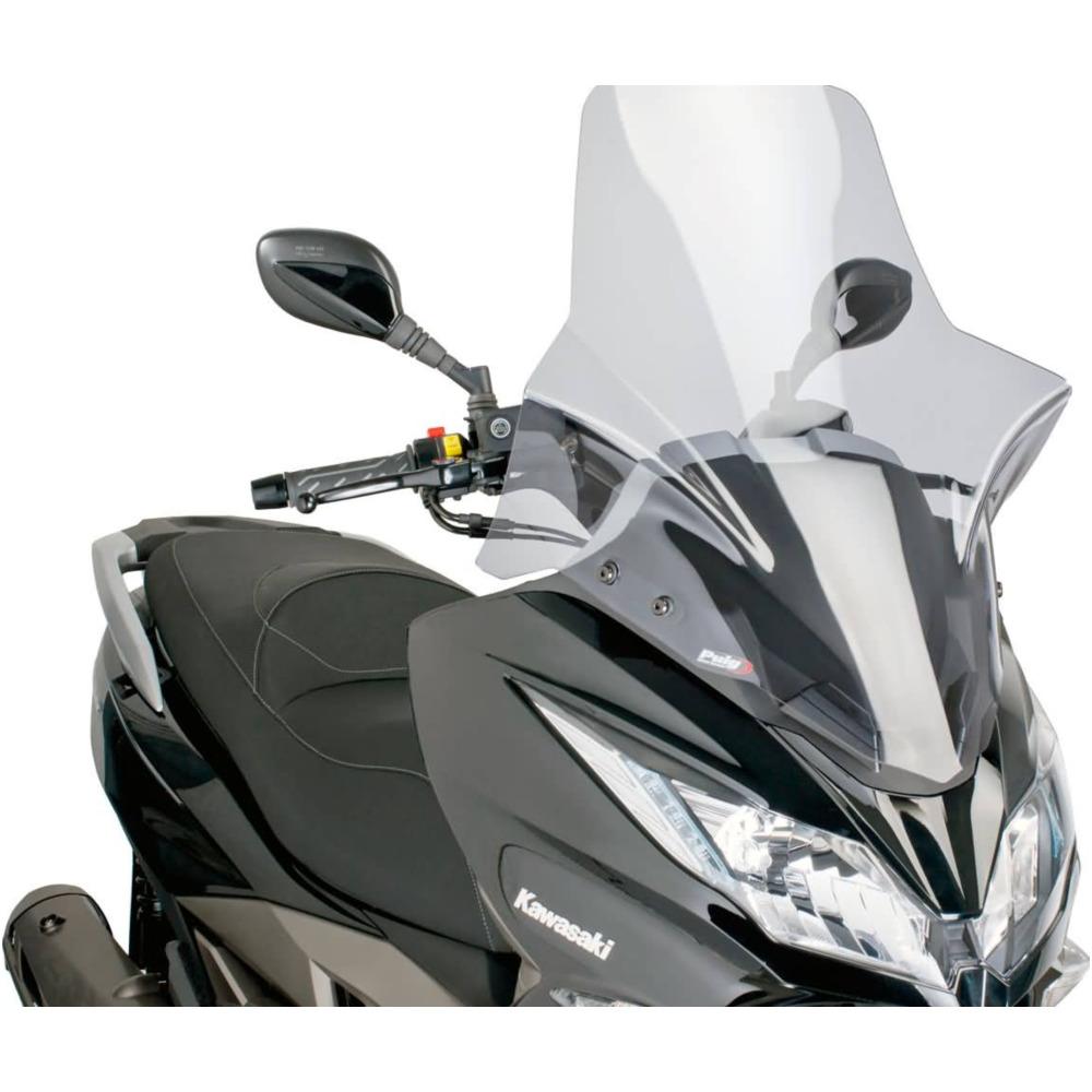 Windscheibe Windschild Puig V-Tech Line Touring smoke für Suzuki Burgman 125 20
