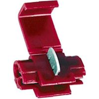 Insulated snap connector 0.3-0.75 red