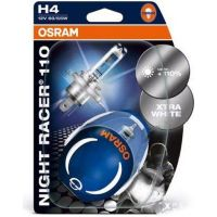 Lampe H4 12V 60/55W P43T 2X Night Racer 110