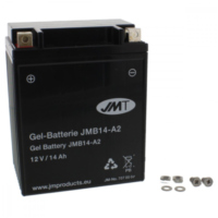 Motorcycle Battery YB14-A2 GEL JMT