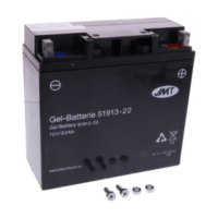 Motorcycle Battery 51913-21 GEL JMT