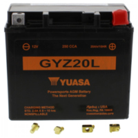 Motorcycle Battery GYZ20L WET YU