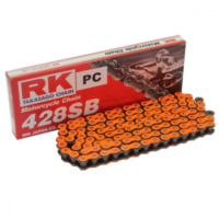 RK Std Chain OR428SB/108  Chain  open with Clips