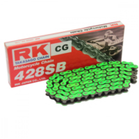 RK Std Chain GN428SB/124  Chain  open with Clips für AJP PR3 Enduro Pro 200  2013