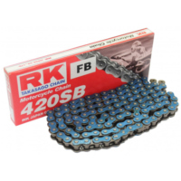 RK Std Chain BL420SB/126  Chain  open with Clips
