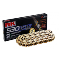 Rk xw-ring chain gb530gxw/114 für Honda CB Super Four ABS 1300 SC54E 2007