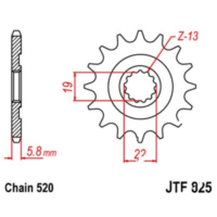 Front sprocket 13tooth pitch 520 JTF82513 für Husqvarna TE  250 A300AA 2011