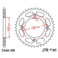 Rear sprocket 51tooth pitch 420 JTR114151 für Beta RR Motard 50  2007
