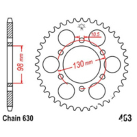 Rear sprocket 33 tooth pitch 630 JTR48333