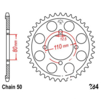 Rear sprocket 38 tooth pitch 530 JTR28438