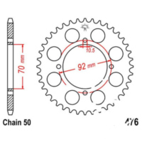 Rear sprocket 40 tooth pitch 530 JTR47640