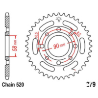 REAR SPROCKET 36 TOOTH PITCH 520 JTR27936