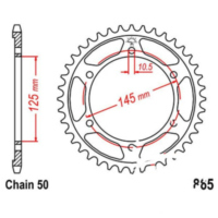 Rear sprocket 44 tooth pitch 530 JTR86544