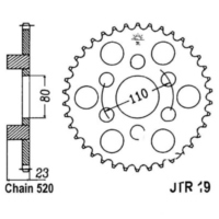 Rear sprocket 38 tooth pitch 520 JTR1938