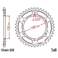 Rear sprocket 48 tooth pitch 525 JTR30048