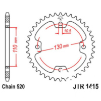Rear sprocket 37tooth pitch 520 JTR141537