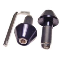 JMP Lenkerenden Alu für Zoll und 17//13mm schwarz 4043981152982