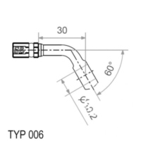 HOLDER TWICE 20-300609 Fitting T...