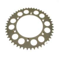 Rear sprocket aluminium 42tooth pitch 520 silver
