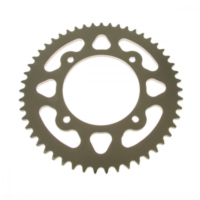 Rear sprocket aluminium 51 tooth 420 silver für Beta RR Motard 50  2007