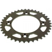 Rear sprocket aluminium 39 tooth pitch 415 silver